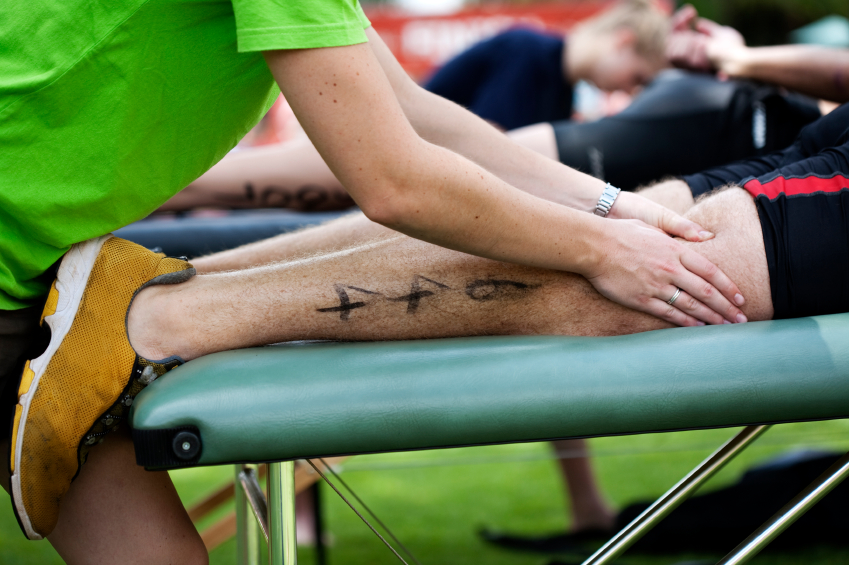 Sports Massage Therapy reduces inflammation after exercise