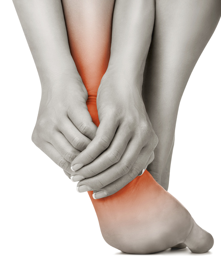 Foot pain or plantar fasciitis sports massage therapy